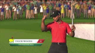 TIGER WOODS 2012 Masters Gameplay Demo XBOX 360!!