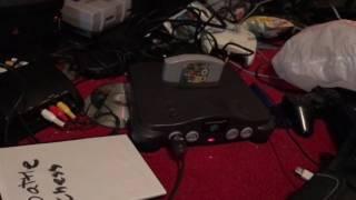 Super Mario 64 cartridge tilting