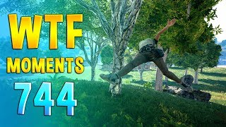 PUBG WTF Funny Daily Moments Highlights Ep 744
