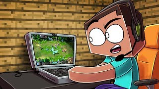 Minecraft | REAL LIFE WORKING LAPTOP MOD! (How to Play Games in Minecraft)