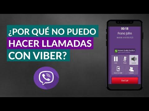 Por qué Viber NO me deja Hacer Llamadas - NO Puedo Llamar con Viber