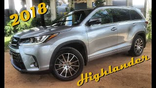 2018 Toyota Highlander SE V6 AWD Review || 3 Rows of Solid Family Fun!