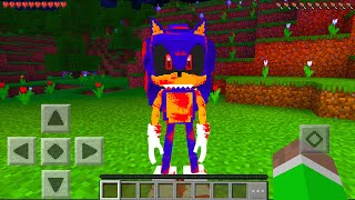 Minecraft PE : SONIC.EXE MOD in Minecraft Pocket Edition