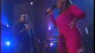 Patti Labelle and Gerald Levert