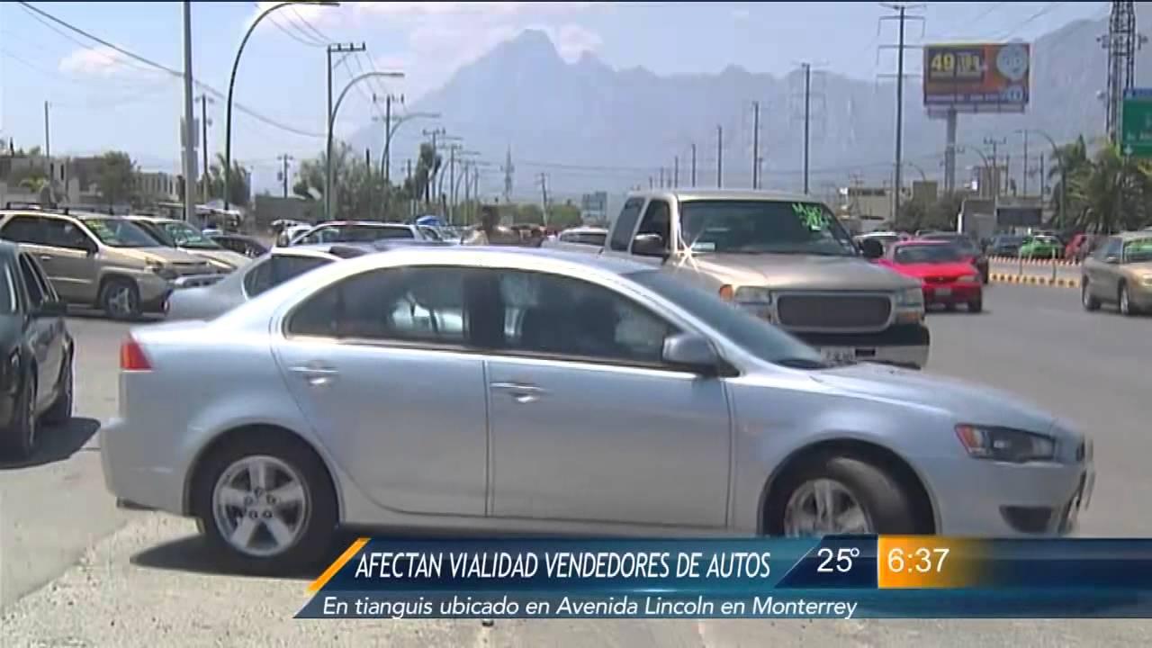 Las Noticias - Vendedores de autos del tianguis de Av