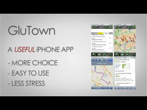 GluTown Gluten Free Restaurant Finder Gluten Free Food Celiac iPhone App CyberNexus