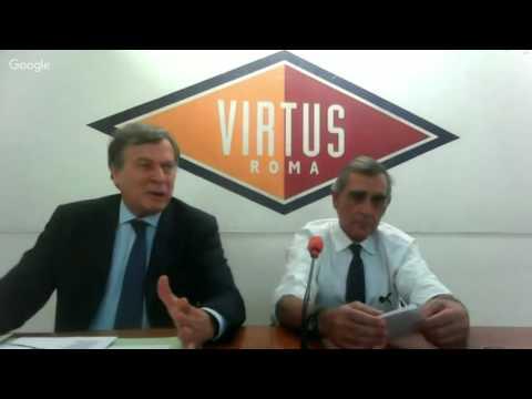Conferenza stampa del presidente Claudio Toti e dell