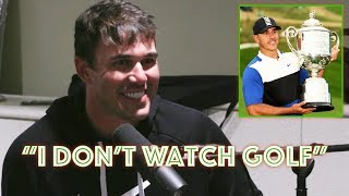 Brooks Koepka is The Greatest Golfer Ever that Doesn't Like Golf