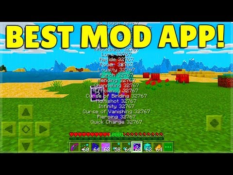 YOU CAN MOD Minecraft With This App! SECRET ITEMS! - The Best Modding Apps