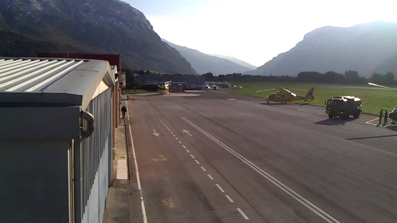 Aeroporto Trento : I tndd decollo aeroporto mattarello trento youtube