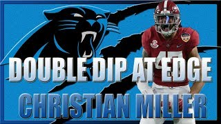 CHRISTIAN MILLER IS A CONFUSING PROSPECT FOR THE CAROLINA PANTHERS | Shellitronnn