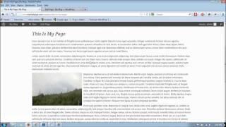 Comment créer pleine largeur de pages dans l'Élégant Thèmes Wordpress Évolution des Thèmes