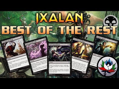 MTG - Ixalan Spoilers: Best of the Rest Set Review – Part 3: Black!