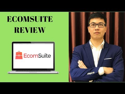 EcomSuite Review From A Real User With Special Bonuses