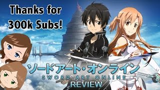 Sword Art Online Review - Happy 300k Subs!