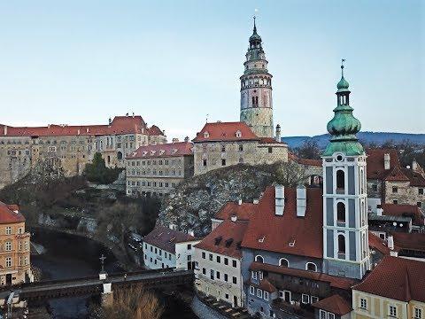 Drone-ing in Cesky Krumlov, UNESCO World Heritage Site, Czech Republic