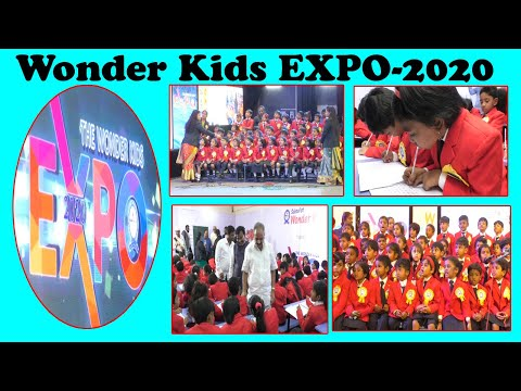 The Wonder Kids EXPO-2020 by School of Wonder Kids in Visakhapatnam,Vizagvision...