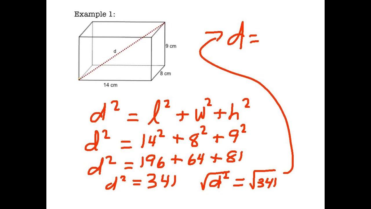 6 6 Pythagorean Theorem In 3d