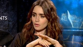 Mortal Instruments: City of Bones -- Lily Collins, Kevin Zegers & More on The Art of Demon-Slaying