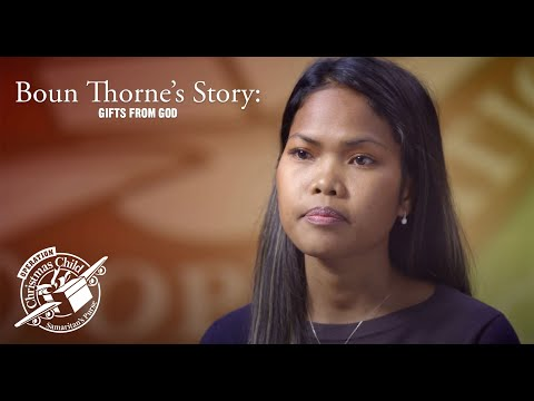 Boun Thorne's Story: Gifts from God