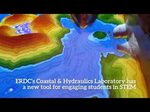 ERDC's Augmented Reality Sandbox