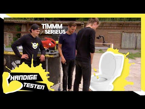 TIM STAAT WEER TE PLASSEN!! DIT KEER ZONDER SPETTERS - CHECKPOINT HANDIGE TESTEN
