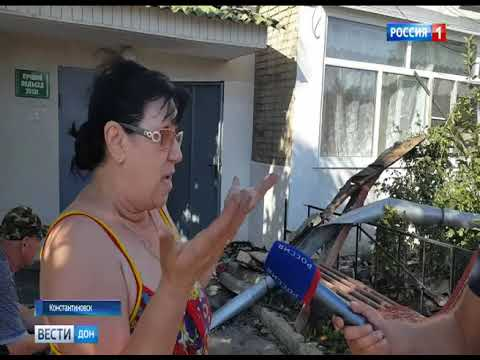 Пожар в Константиновске: пострадавшим обещают помочь с денежными компенсациями