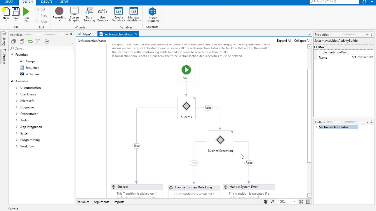 Enterprise Framework v1 v4 by UiPath