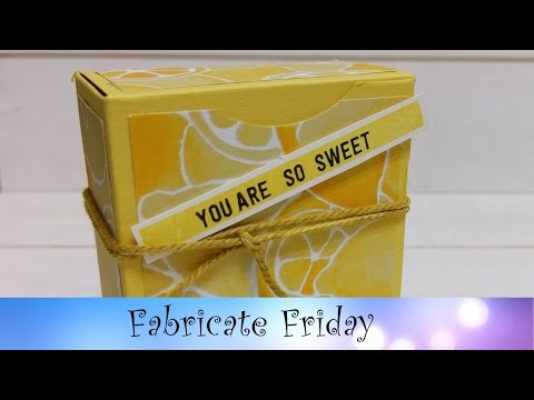 Lemon Box featuring Stampin' Up! Products