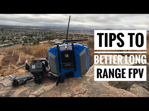 How to fly long range fpv and not lose your investment