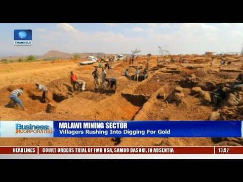 Villagers In Malawi Rushing Into Digging For Gold |Business Incorporated|