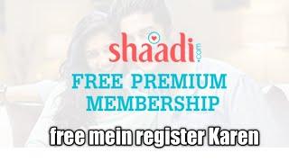 free register shaadi.com || shaadi.com Mod application || free Prime membership shaadi.com screenshot 3