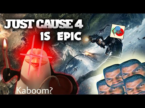 This game is hilarious | Just Cause 4 |