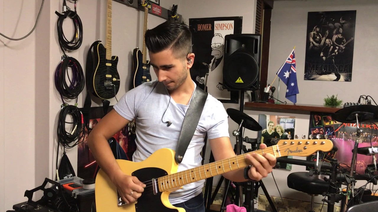 Brent Mason - Hot Wired (Guitar Cover by Luke Gallagher) - YouTube