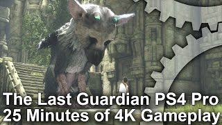 [4K] The Last Guardian: 25 Minutes of PS4 Pro 4K Gameplay