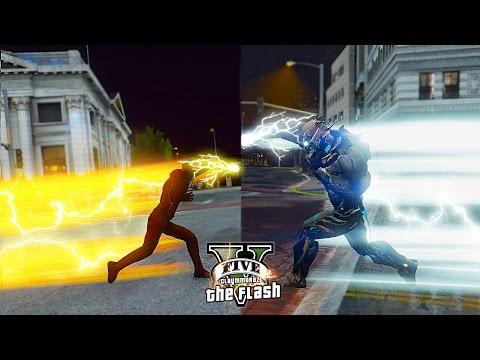 GTA 5 PC - The Future Flash VS Savitar ! Crisis In 2024 ! (Ultimate Flash Mod)🏃🏽⚡️