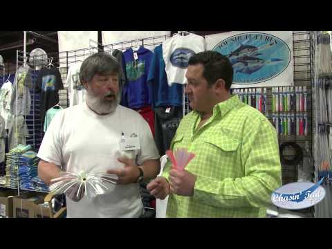 Joe shute lures the saltwater fishing expo 2015 for Saltwater fishing expo