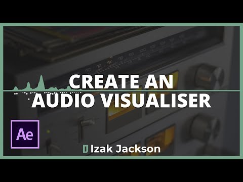 How To Create An Audio Visualiser In After Effects
