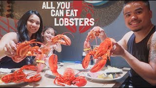 All You Can Eat Lobsters MUKBANG