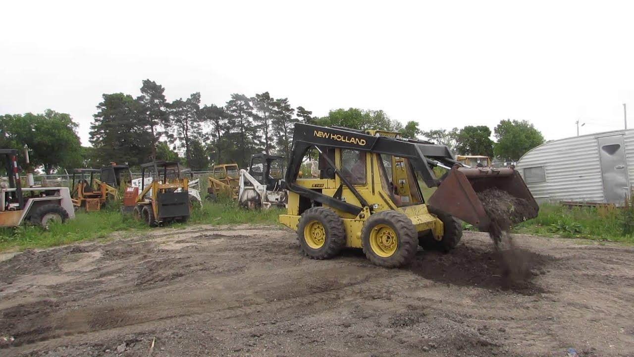 New Holland L785 Skid Steer