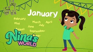Nina's World, Kids Songs: Months of the Year Song | Universal Kids