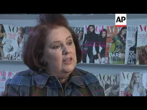 International editor of Vogue Suzy Menkes shares her thoughts on celebrity designers