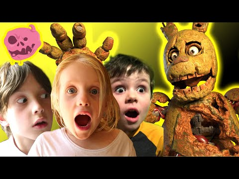 real fnaf vs kids - WHO WILL WIN? - the story so far.