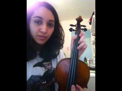 Black Veil Brides Overture Violin Tutorial