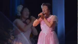 青木ふみこさんが水森かおりさんの水に咲く花・支笏湖へ~を歌わさせて...