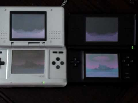 nintendo ds vs ds lite youtube. Black Bedroom Furniture Sets. Home Design Ideas
