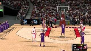 NBA 2K11 HD-PC Gameplay