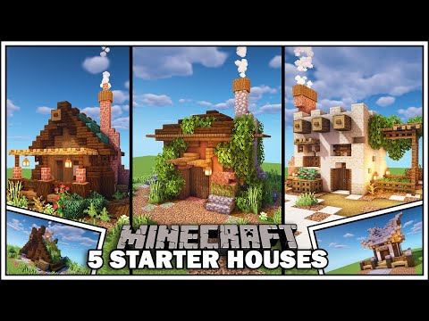 Minecraft: 5 Simple Starter Houses
