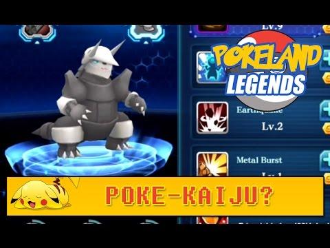 POKELAND LEGENDS : Aggron the Poke-Kaiju?