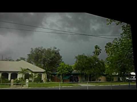 Lightning Storm over McAllen, TX 4-16-12